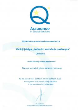 Equass sertifikatas